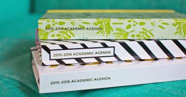 agenda d'étude